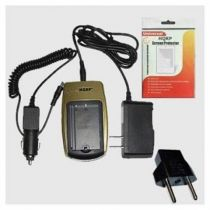Caricabatterie universale - Caricabatteria Epson EPALB2, EU-94, Samsung SLB-1237 (41700,