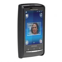 Comprar Tampas - Protecção Borracha Barely There Sony Ericsson X10 mini Preto