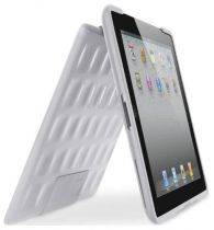 Custodie per iPad2 - Custodie Belkin iPad 2 Hard Folio TPU Bianco