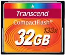 Compact Flash - Transcend Compact Flash 32GB MLC 133x