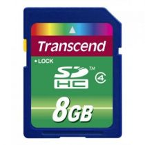 Secure Digital SD - Transcend SD SDHC 8GB Class 4