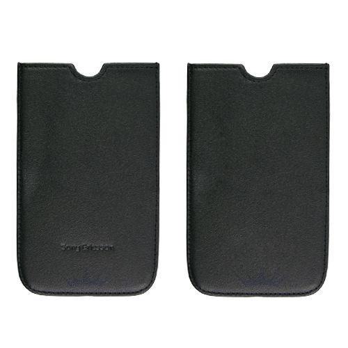 Comprar  - Bolsa Pele para Sony Ericsson X10 Preta