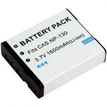 Batterie per Casio - Batteria CASIO NP-130 Exilim EX-H30, EX-ZR100, EX-H35