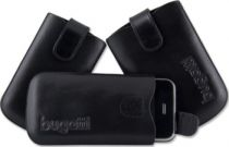 Custodie Blackberry - Custodia Pelle Slim Bugatti  ´´Easy Release System´´ L Nera