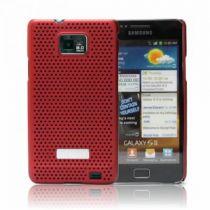 Protezione - Samsung SAMGALS2RD metal look Galaxy S2 i9100