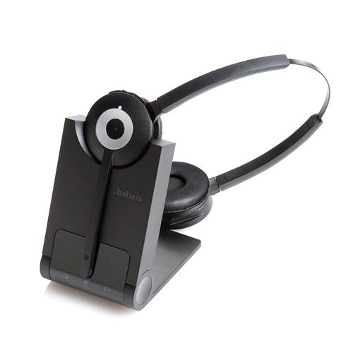 Auriculari - Jabra PRO™ 920 biaural DECT. Telefones fissos. cancelador de