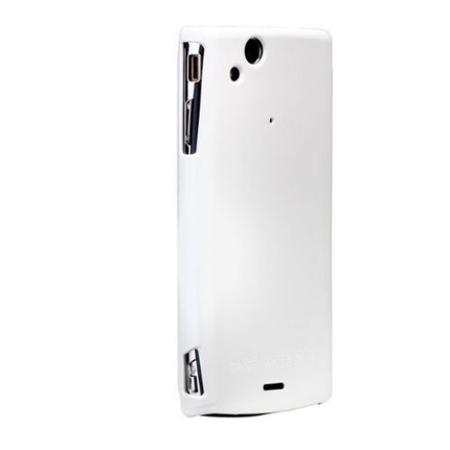 Comprar  - Capa para Sony Ericsson Arc case-mate glossy branco Barely There