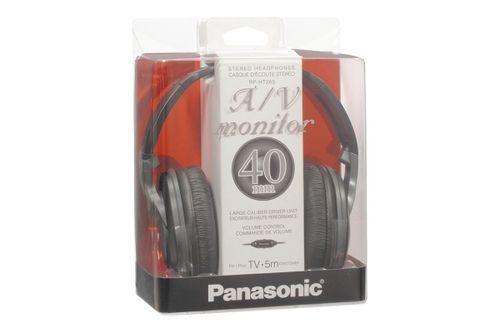 Auscultadores Panasonic RP-HT265 E-K preto