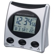 Revenda Relógios/Despertadores - Despertador Proficell WT221 prata