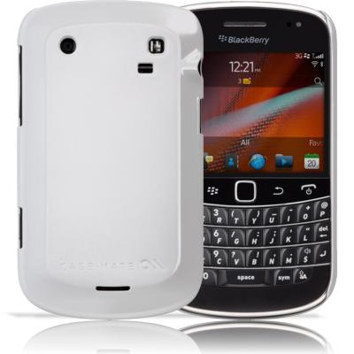 Protection Spéciale Blackberry - case-mate CM014675 Blackberry Bold 9900 Blanc Barely There