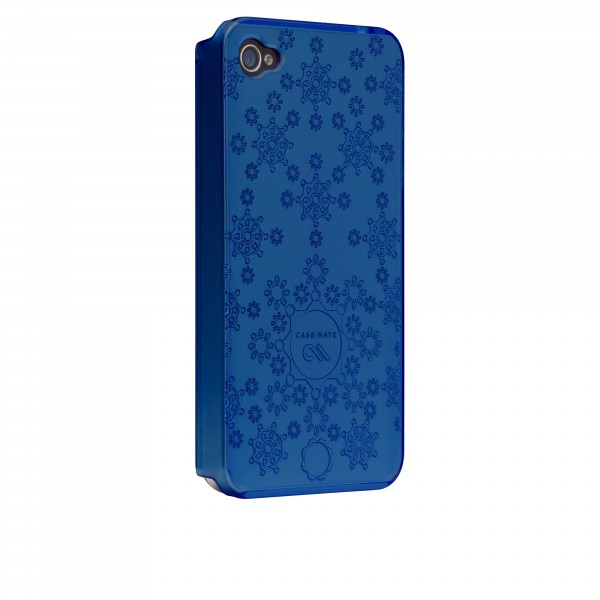 Protezione Speciale iPhone 4/4S - Case-Mate CM016775 iPhone 4/4s Azzurro Barely There Daisy