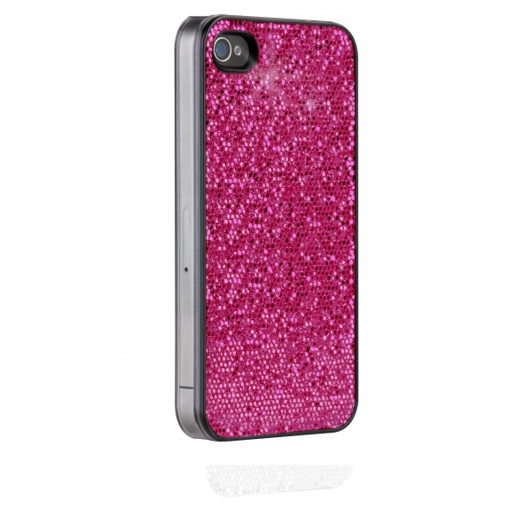 Protecção Especial iPhone 4/4S - Case-Mate CM016807 Bling iPhone 4/4s Rosa