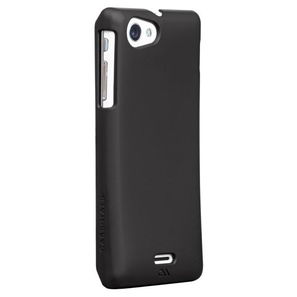 Protezione - Case-mate Barely There Sony Xperia J Nero