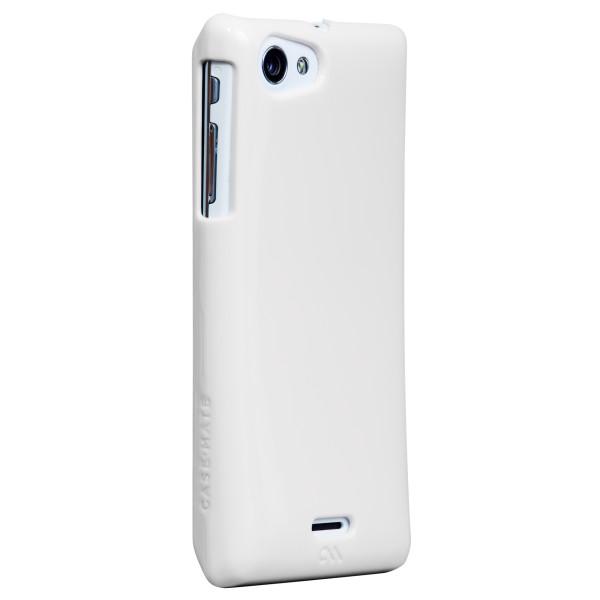 Protezione - Case-mate Barely There Sony Xperia J Bianco