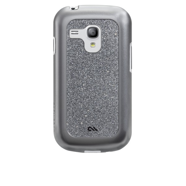 Accessori Galaxy S3 mini i8190 - Case-mate Glam Samsung Galaxy S3 Mini Argento