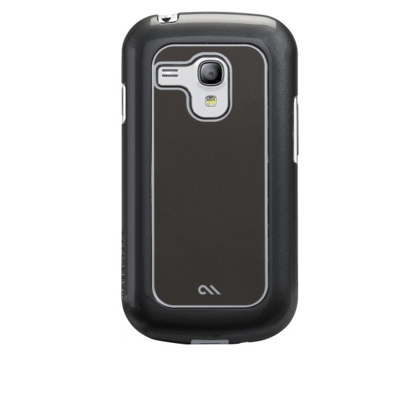 Accessori Galaxy S3 mini i8190 - Case-mate Barely There Samsung Galaxy S3 Mini Brushed Alumin