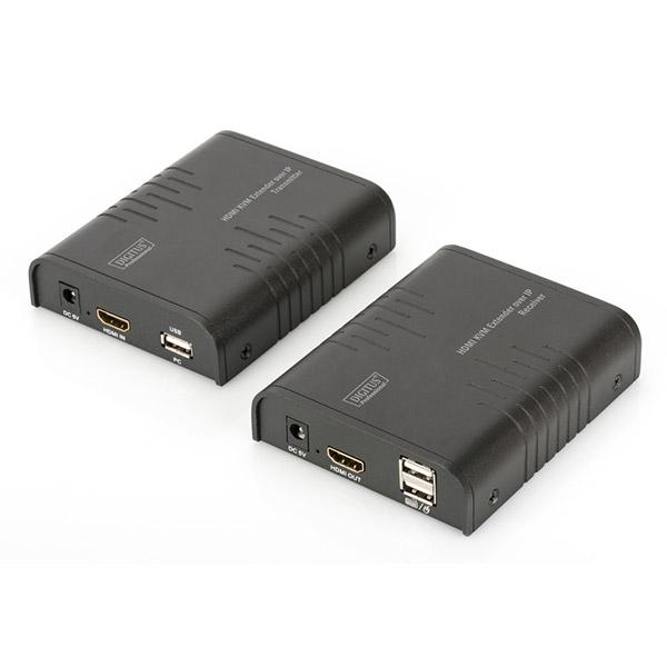 KVM - DIGITUS KVM EXTENDER HDMI 1080P OVER IP, USB,