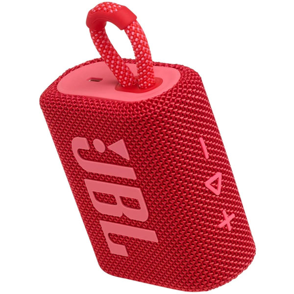 Colunas Sem Fio - JBL COLUNA BLUETOOTH GO 3 RED