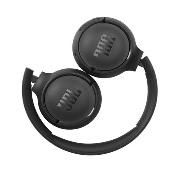 Auscultadores JBL - JBL HEADPHONES DOBRAVEIS C/ MICRO T510 BLUETOOTH BLACK