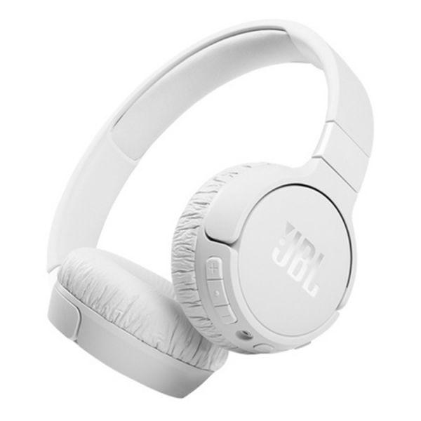 Auscultadores JBL - JBL HEADPHONES C/ MICRO T660 BLUETOOTH NOISE CANCELLING Branco