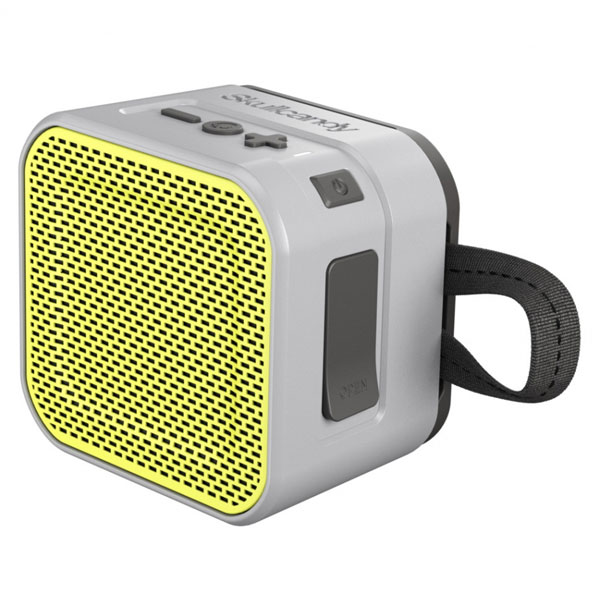 Altoparlanti senza cavi - SKULLCANDY ALTOPARLANTE BLUETOOTH BARRICADE MINI GREY/LIME