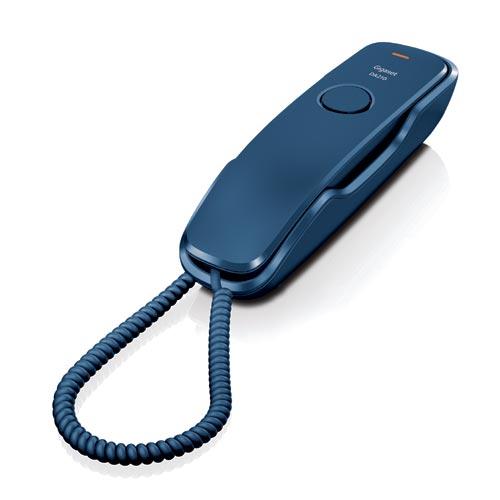Telefones Fixos Analógicos - Telefone Gigaset Euroset DA210 azul mesa / mural tipo gondola