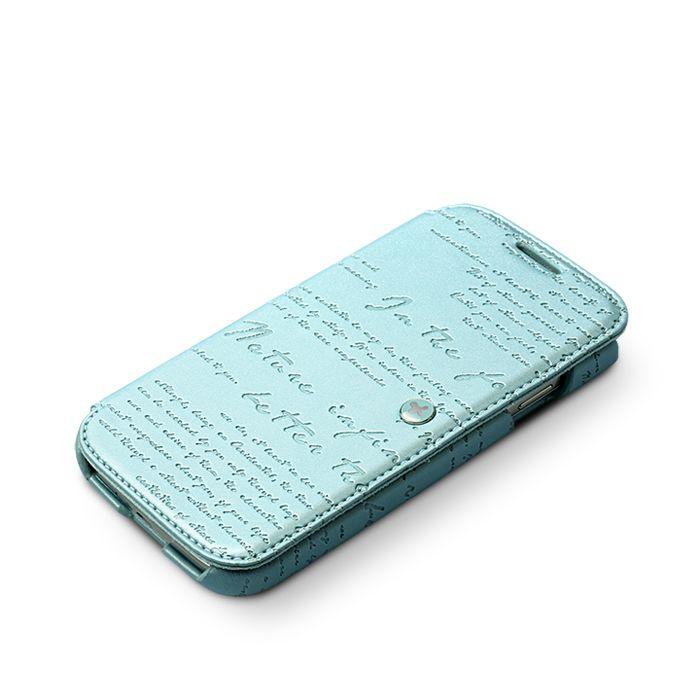 Accessori Galaxy S4 i9500 - Zenus Masstige Lettering Diary per Samsung Galaxy S4 i9500