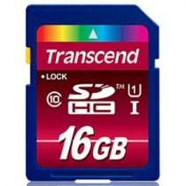 achat Secure Digital SD - Transcend SD SDHC 16Go Class 10 / UHS-I