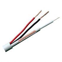 achat Câbles - Bobine de câble 100 m Combiné: Micro RG59 et 2 câbles d´alimentation S RG59UP-100
