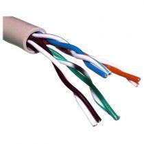 Comprar Cables - Bobina de cable 305 m UTP Categoría 5E Conductor 24AWG rígido Gris