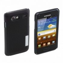 buy Battery Case - Samsung SAMGAPCCBK metal look cool case black Galaxy S Advance