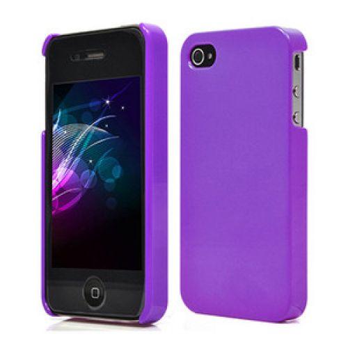 Protección trasera iPhone 4 lila