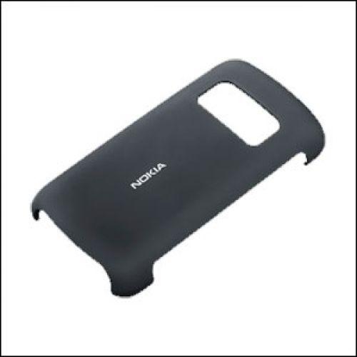Protección trasera NOKIA C6-01 negro