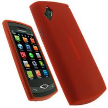 buy Special Protection - Back Cover SAMSUNG S8500 red