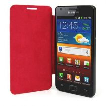 buy Flip Case Samsung - FLIP CASE Samsung I9100 Galaxy S2 red