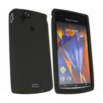 buy Cases - Case Silicone Sony Ericsson Xperia S Black