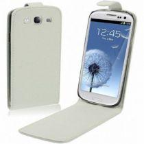 Comprar Accesorios Galaxy S3 - Flip Cover para Samsung Galaxy S3 i9300 Blanca