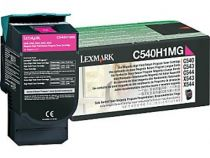 Comprar Toners Lexmark - LEXMARK TONER MAGENTA ELEVADA CAP. C/RETOR 2K C540H1MG