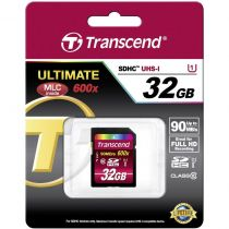 Comprar Tarjeta Secure Digital SD - Transcend SDHC 32GB Class10 UHS-I 600x Ultimate TS32GSDHC10U1