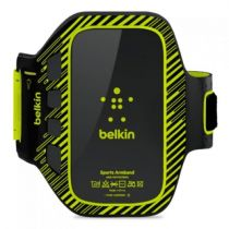 buy Accessories Galaxy S3 - Belkin EaseFit Sportsarmband black/lime i9300/i9500