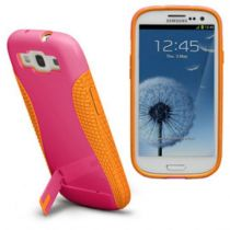Comprar Accesorios Galaxy S3 - Funda CASE-MATE POP SAMSUNG GALAXY S3 Rosa/ORANGE CM021164