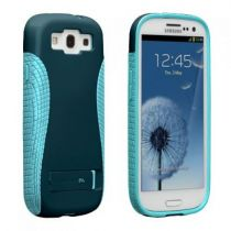 Comprar Accesorios Galaxy S3 - Case-Mate Pop! 2 Case with Stand (Navy/Aqua) galaxy s3
