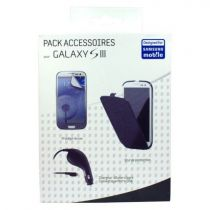 buy Accessories Galaxy S3 - Kit Samsung Case + Protector +Charger Car Galaxy S3