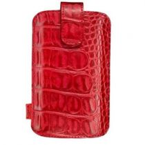 buy Cases - Nokia CO-521 Red Leather case