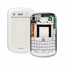 achat Façade Batterie - Original Housing Blackberry 9900 Blanc