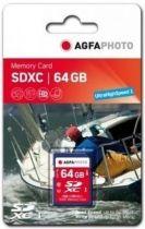 achat Secure Digital SD - AgfaPhoto SDXC Card 64Go Class 10 / High Speed / MLC