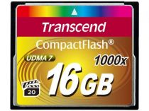Comprar Compact Flash - Transcend Compact Flash 16GB 1000x TS16GCF1000