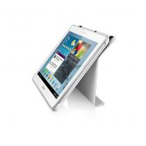 buy Galaxy Tab /Tab2 10.1 Accessories - Book Cover Samsung EFC-1H8SWECSTD White Galaxy Tab2 10.1
