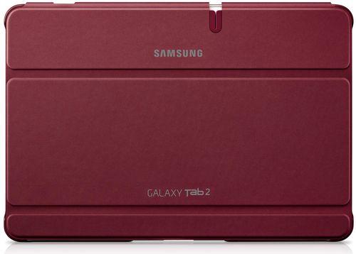 Funda tipo libro para Galaxy Tab2 10.1 Samsung EFC-1H8SRECSTD Roja