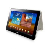 Comprar Accesorios Galaxy Tab 8.9 - Funda Samsung Galaxy Tab 8.9 Book Cover Marfil EFC-1C9NIECSTD